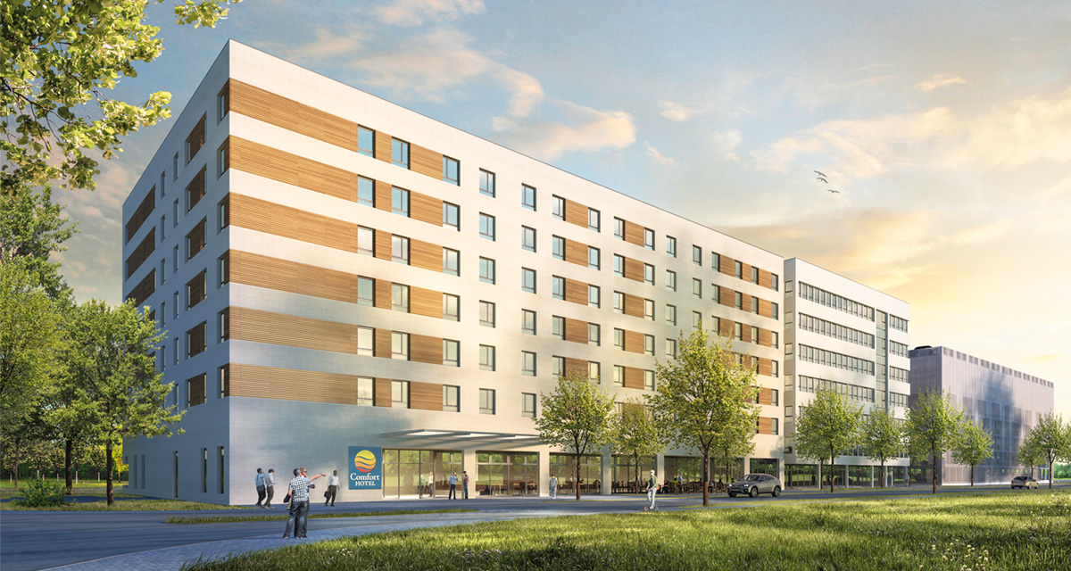 Comfort Hotel Frankfurt West